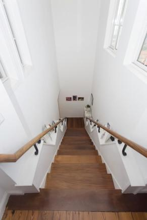 Service stairs