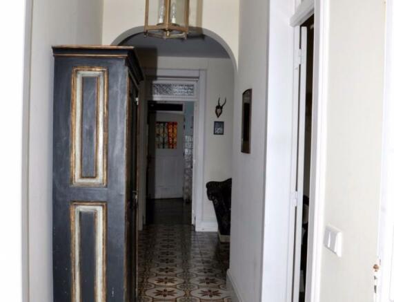 Ground floor coridor
