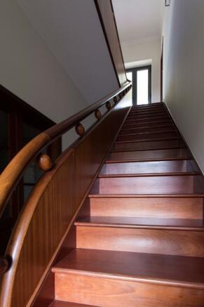Imposing staircase