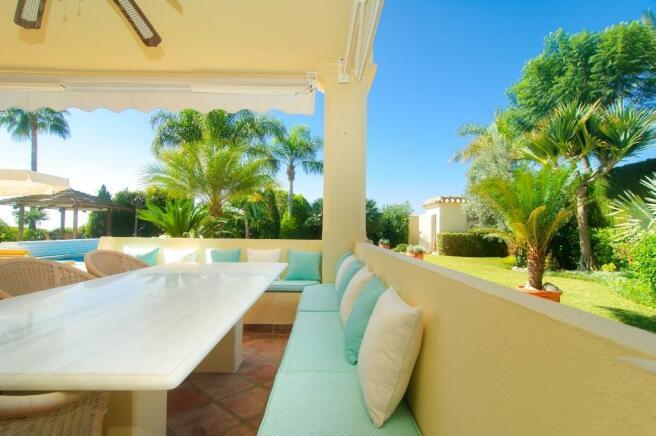 7 terrace and garden