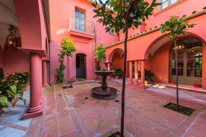 Andalucian courtyard