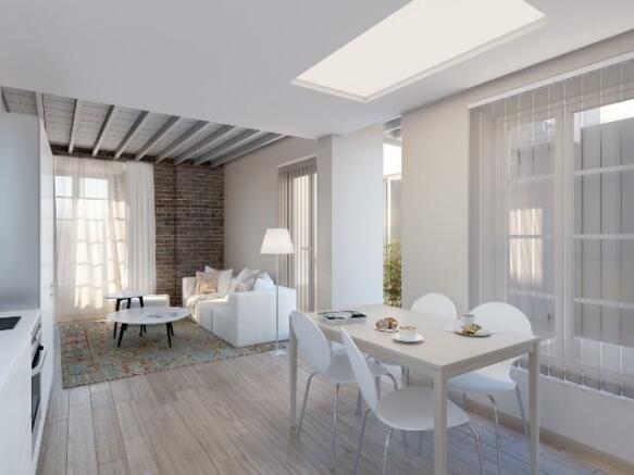 Apartamento- salón -