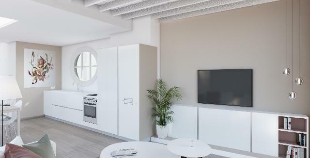 Apartamento- cocina