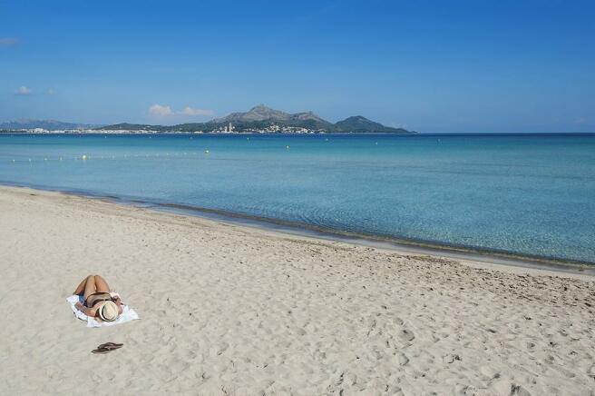 Beach of Playas de M