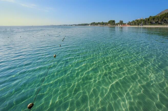 Beach of Port Alcudi