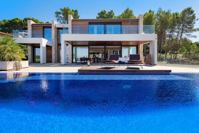 Exterior and Pool