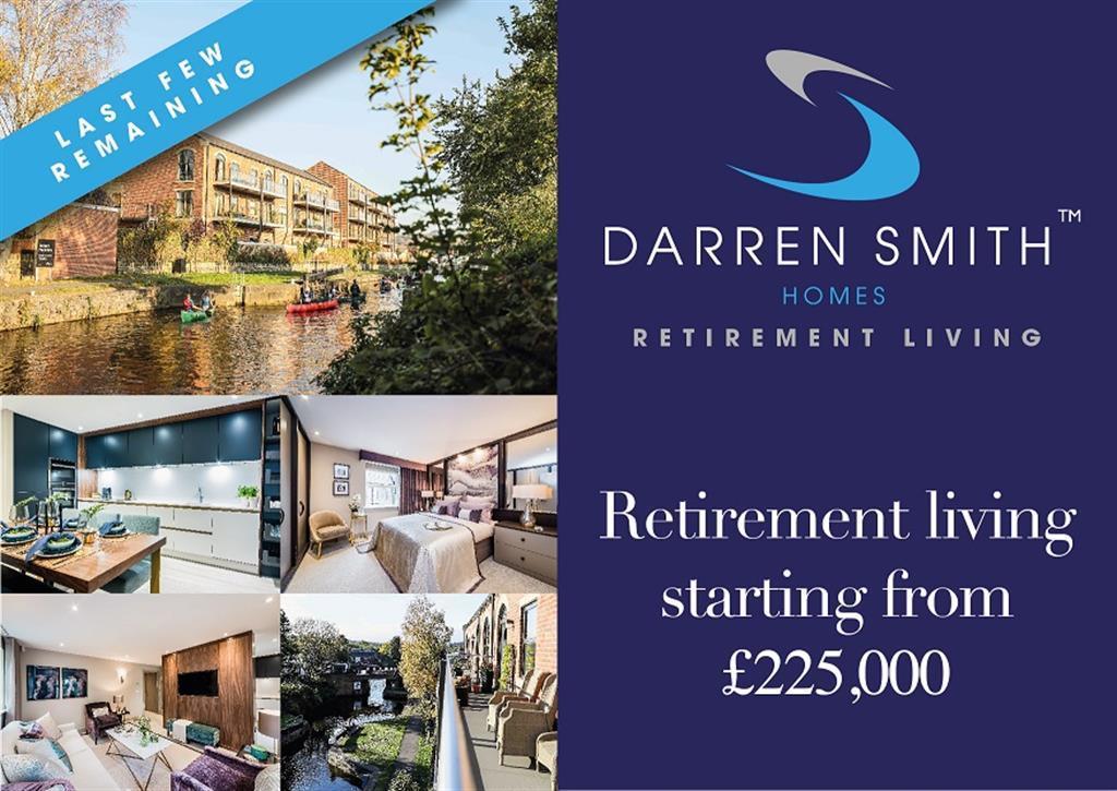 2 bedroom retirement property for sale - St Paul's Lock, Mirfield, WF14 8DD