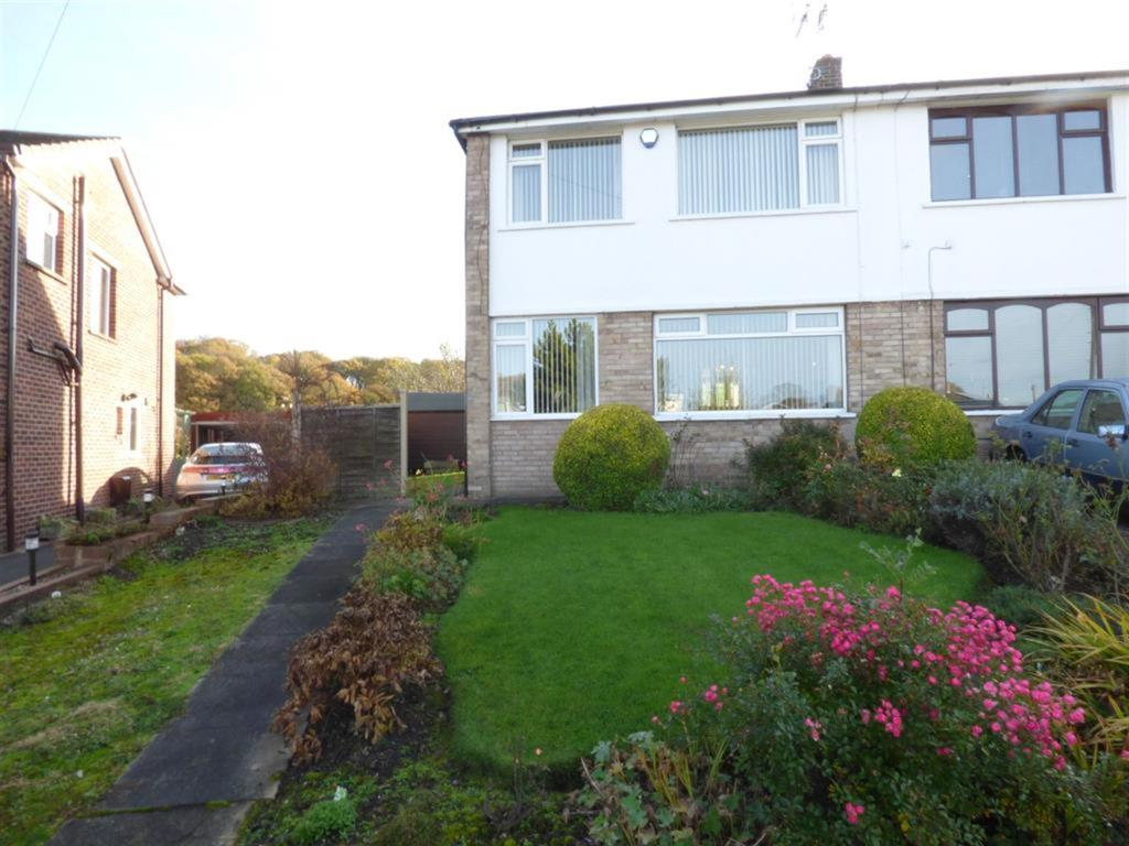3 bedroom semi-detached house for sale - Gregory Springs Mount, Mirfield, WF14 8LG