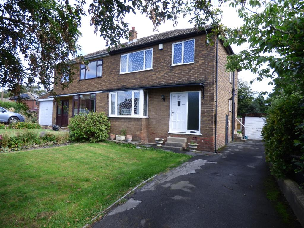 3 bedroom semi-detached house for sale - West Royd Drive, Mirfield, WF14 9LP