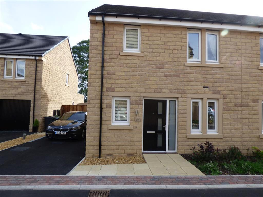 3 bedroom semi-detached house for sale - Moorcroft Close, Mirfield, WF14 9FA