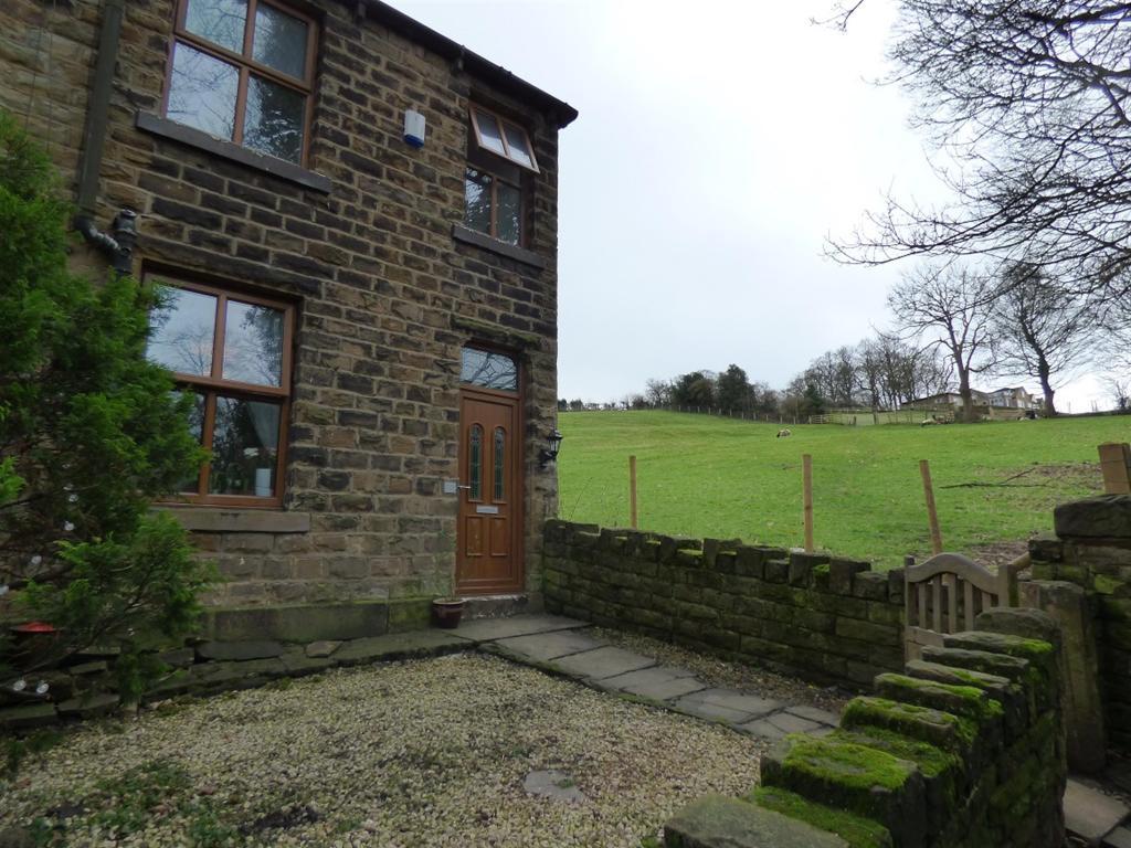 2 bedroom end of terrace house for sale - Handbank Lane, Hopton, WF14 8EX
