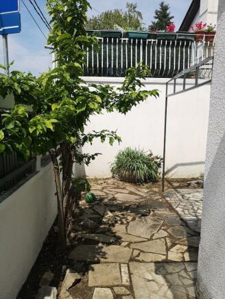 Entrance garden view