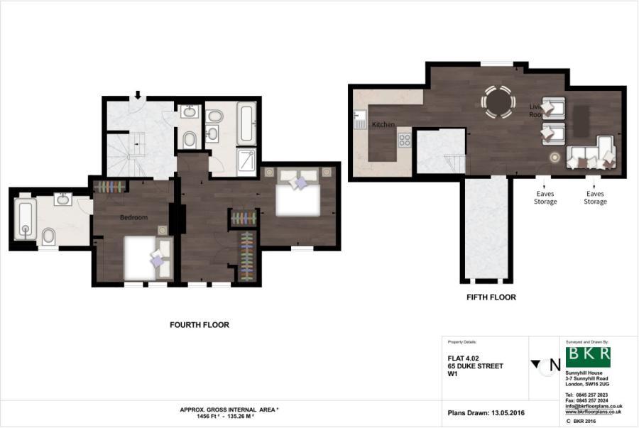 2 Bedroom Flat To Rent In Duke Street W1 W1K