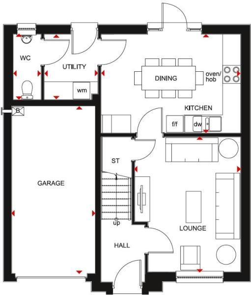 Fenton ground floor