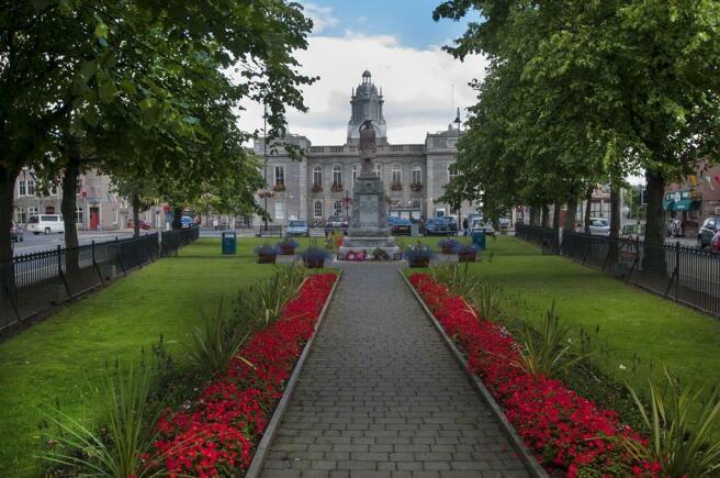 Inverurie town centre