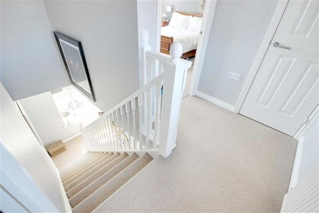 Stairs to Second Floor Landing
