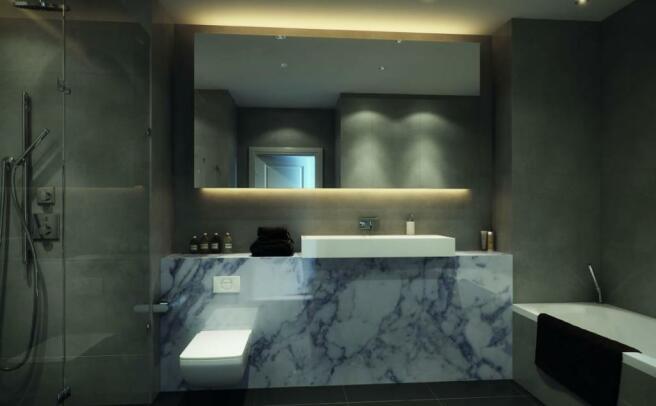 Bathroom - CGI
