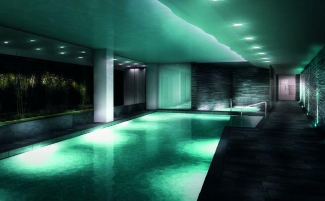 Swimming Pool - CGI