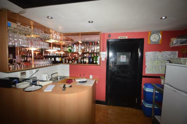 Seated Area + Bar