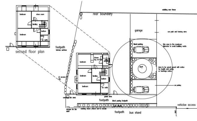 Proposed First/Second Floor
