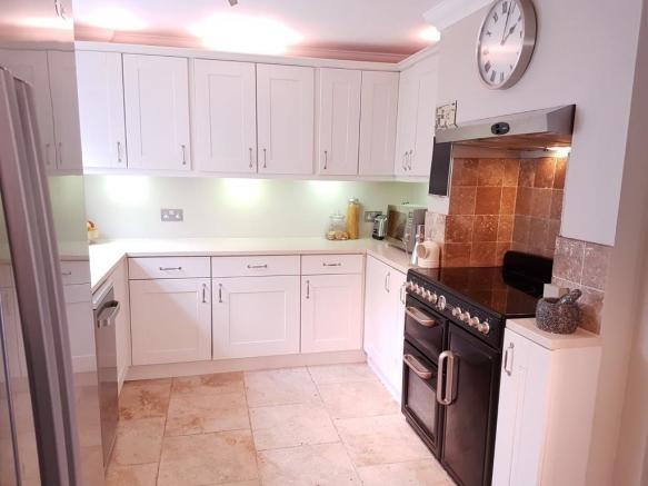 large kitchen dining area