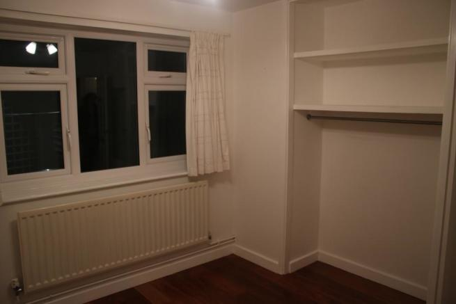 double bedroom with fitted wardrobe
