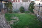 private South facing garden
