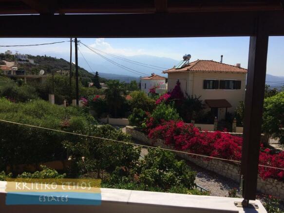 Rear terrace view
