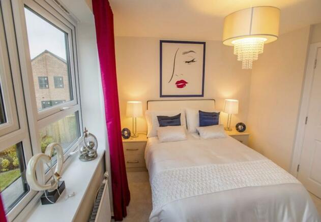 Winwick double bedroom