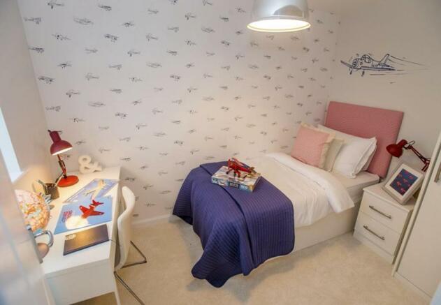 Winwick single bedroom