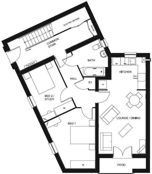 Cherwell floor plan