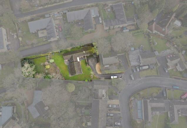 Aerial of plot