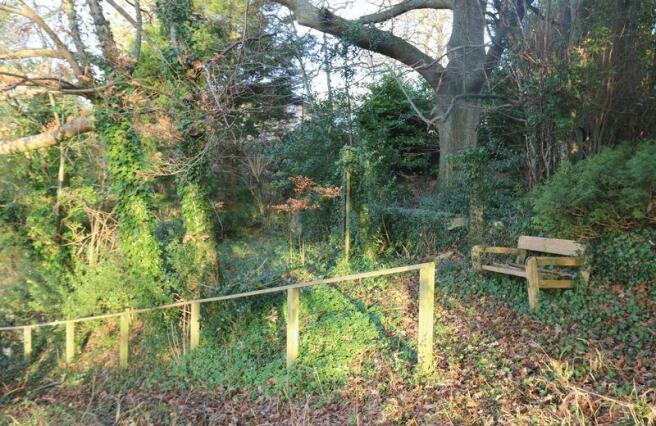 Upper garden