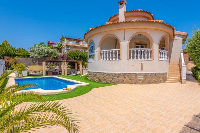 Street Map Of Quesada Spain.4 Bedroom Villa For Sale In Ciudad Quesada Alicante Valencia Spain