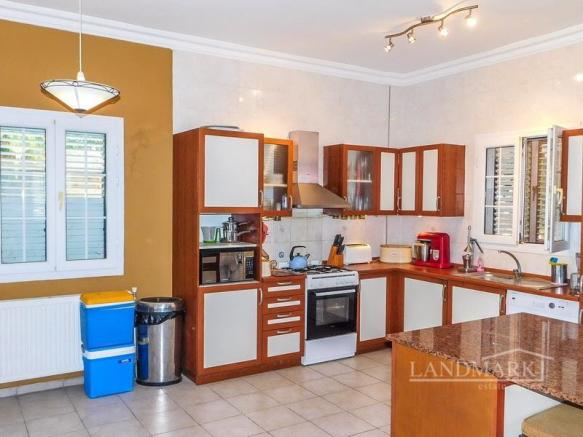 3 bedroom villa + communal pool + furnished + central heating + white goods + air conditioning + shutters  + Title deed in the owner?s name VAT paid Image 9999