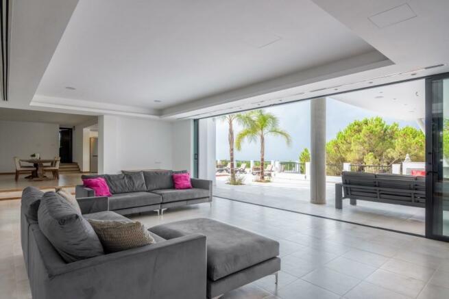 Lounge terrace diner