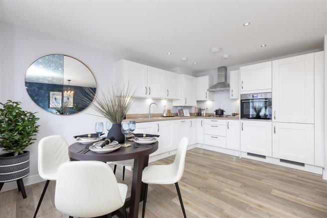 Open plan layout - ideal for entertaining loved ones