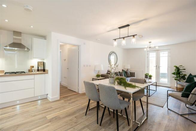 Enjoy modern living on one floor