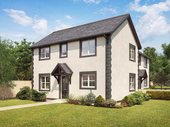External CGI of 3-bedroom Chester
