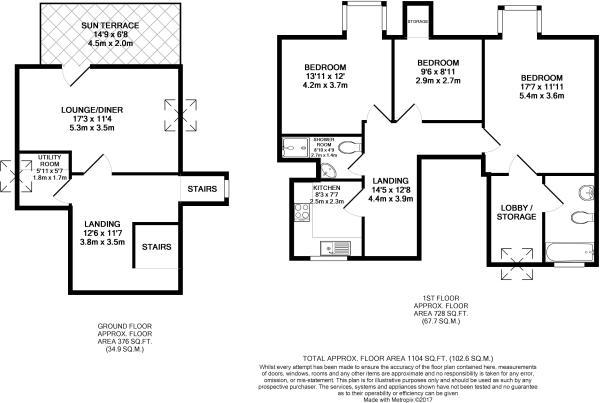 Flat 4  33 Grosvenor Place  Jesmond    NE2 2RD