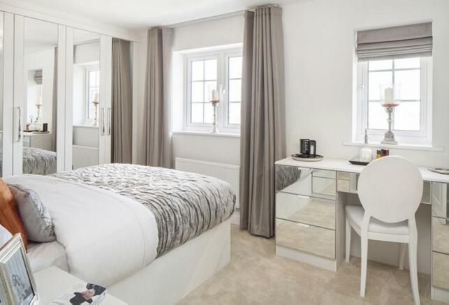Thornbury Show Home Bedroom