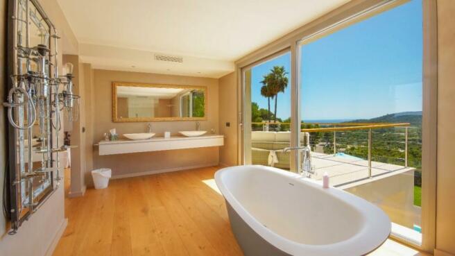 Master suite bathroo