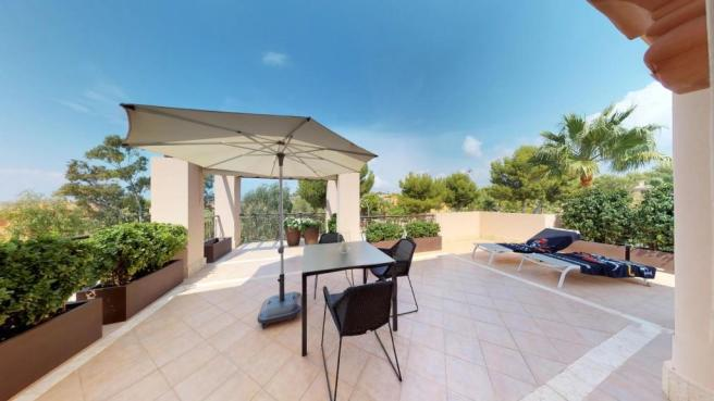 Kitchen terrace (bac