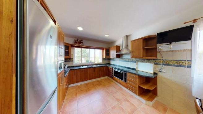 Generous kitchen