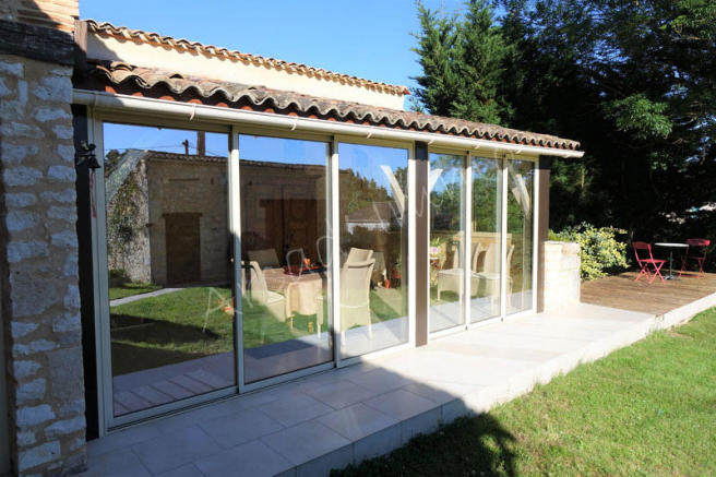 The veranda/terrace