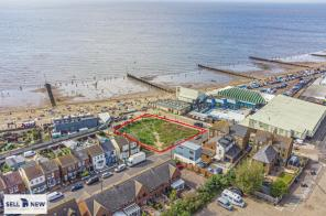 Photo of **LAND WITH PLANNING OPPORTUNITY, ON BEACH FRONT, WITH STUNNING SEA VIEWS** Seagate Road, Hunstanton, PE36