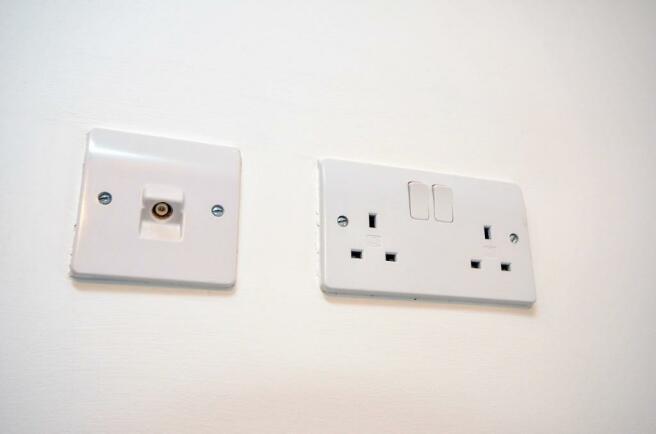 Tv wall sockets