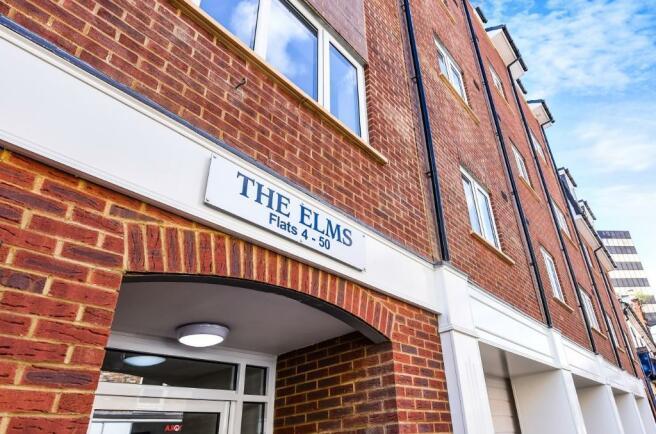 The Elms entrance