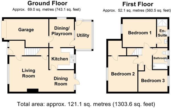 1 Gresham Cl - Floor
