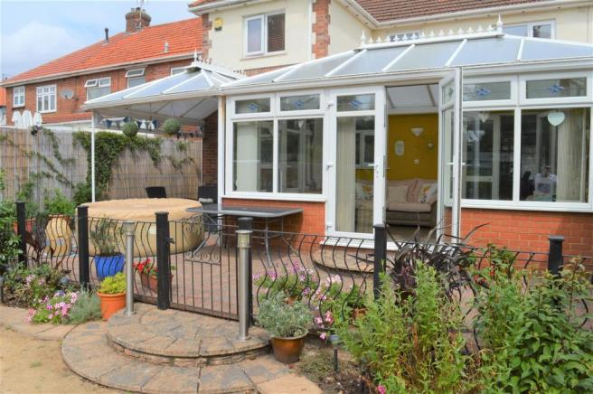 rear conservatory view